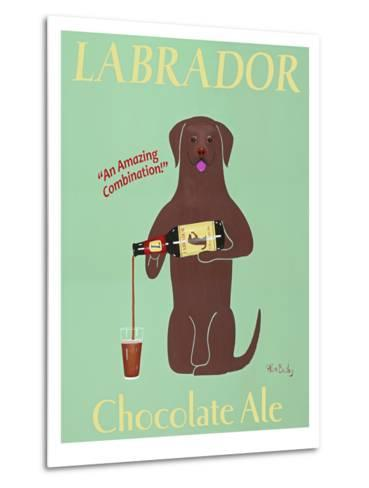 Lab Chocolate Ale-Ken Bailey-Metal Print