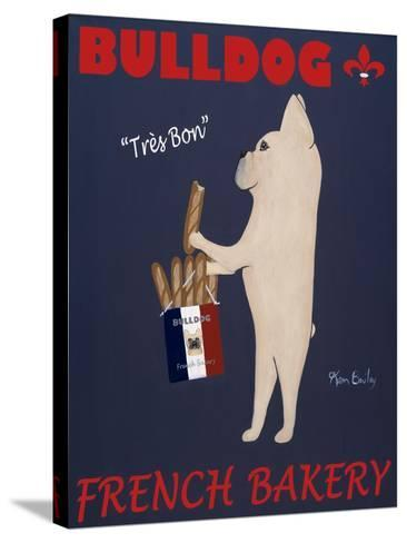 French Bulldog Bakery-Ken Bailey-Stretched Canvas Print