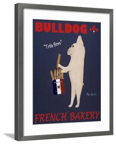 French Bulldog Bakery-Ken Bailey-Framed Art Print