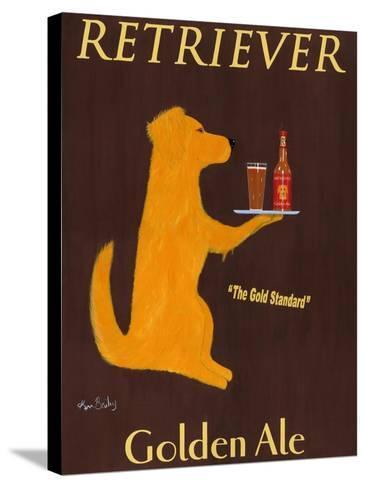 Golden Ale-Ken Bailey-Stretched Canvas Print