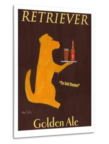 Golden Ale-Ken Bailey-Metal Print