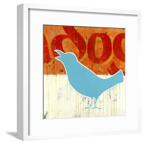 Blubird-Christopher Balder-Framed Art Print