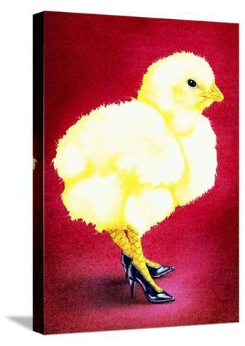 Hot Chicks and High Heels-Will Bullas-Stretched Canvas Print