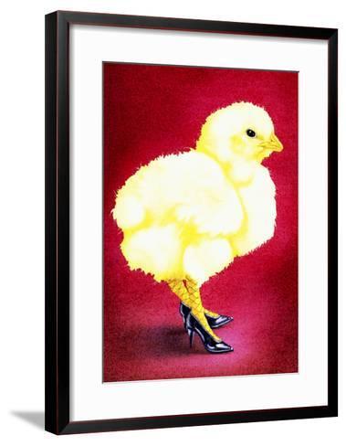 Hot Chicks and High Heels-Will Bullas-Framed Art Print