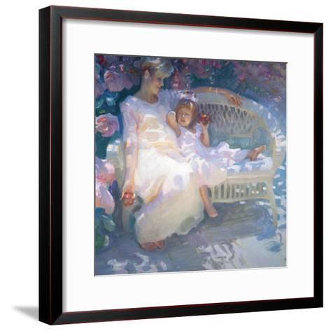Expecting-John Asaro-Framed Art Print