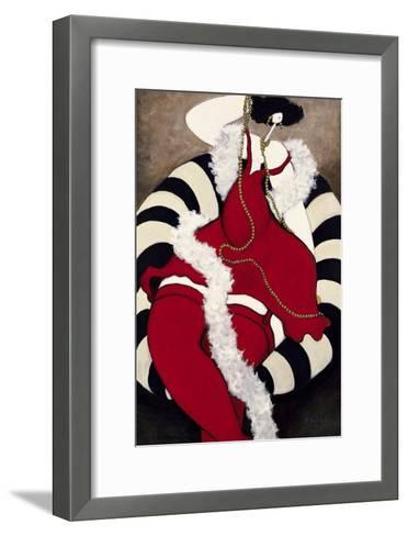 Beaux Cheveux-Michel Boulet-Framed Art Print