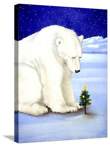 Polar Prayer-Will Bullas-Stretched Canvas Print