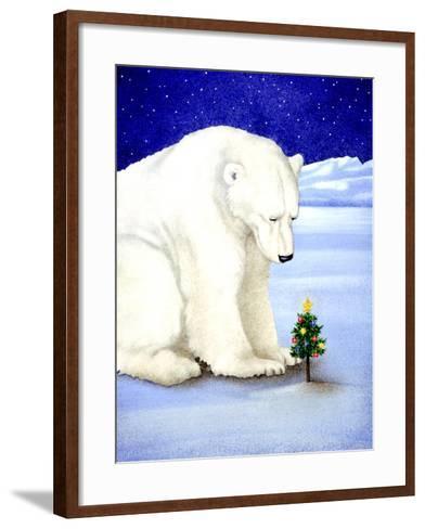 Polar Prayer-Will Bullas-Framed Art Print