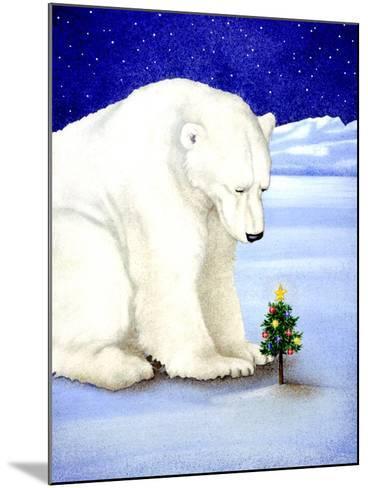 Polar Prayer-Will Bullas-Mounted Premium Giclee Print