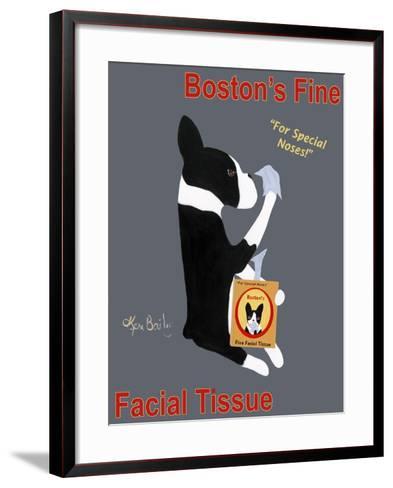 Boston Facial Tissue-Ken Bailey-Framed Art Print