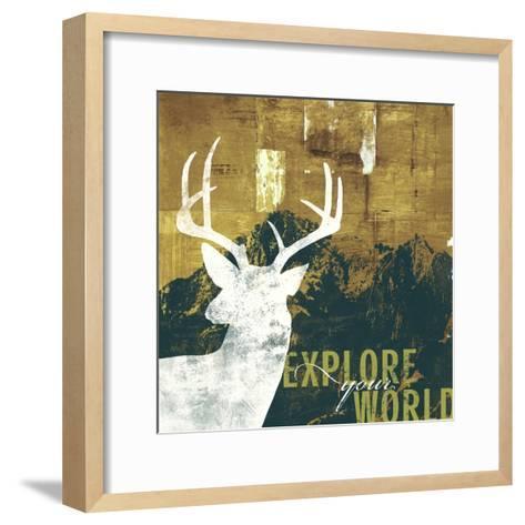 Explore Your World 4-CJ Elliott-Framed Art Print