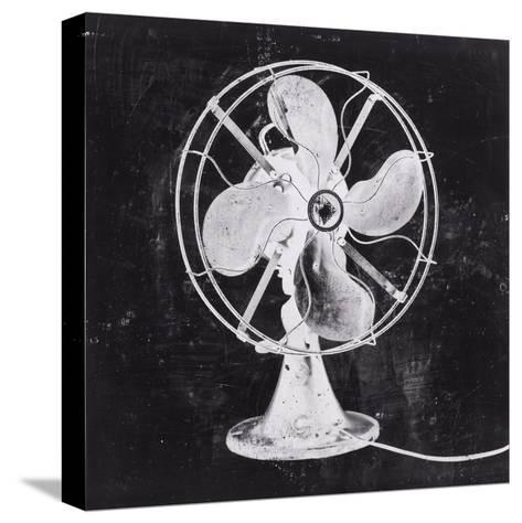 Fan White 2-JB Hall-Stretched Canvas Print