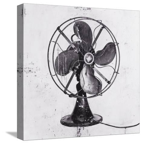 Fan Black 1-JB Hall-Stretched Canvas Print