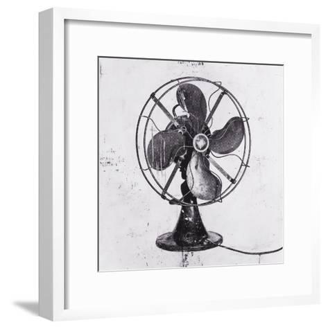 Fan Black 1-JB Hall-Framed Art Print