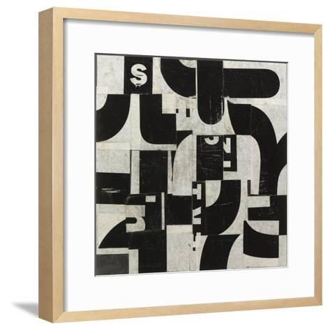 Comparison D-JB Hall-Framed Art Print