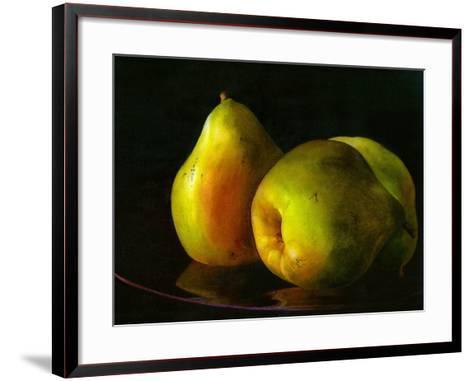 Three Pears-Terri Hill-Framed Art Print