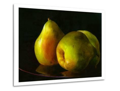 Three Pears-Terri Hill-Metal Print