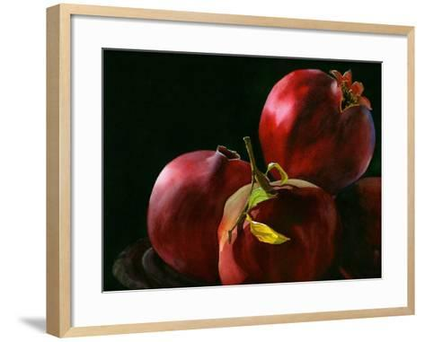Four Pomegranates-Terri Hill-Framed Art Print