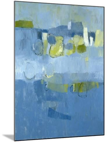Blue View-Jenny Nelson-Mounted Premium Giclee Print