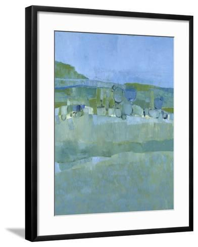 Ice House Pond-Jenny Nelson-Framed Art Print