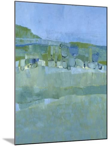 Ice House Pond-Jenny Nelson-Mounted Premium Giclee Print