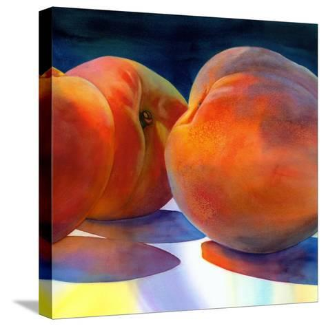 Just Peachy-Terri Hill-Stretched Canvas Print