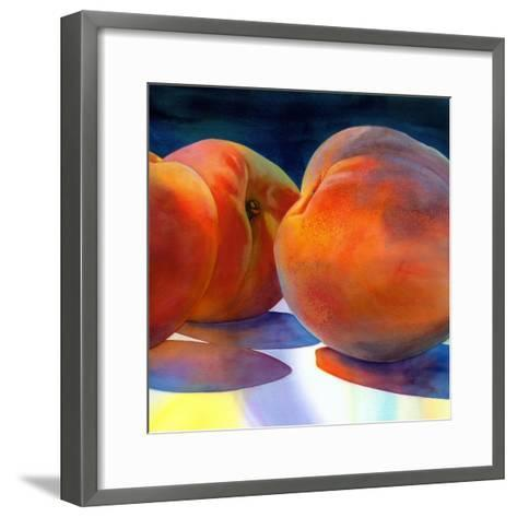 Just Peachy-Terri Hill-Framed Art Print
