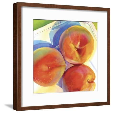Tres Peachy-Terri Hill-Framed Art Print