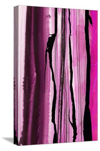 Colorful Ink Wash 1B-Tracy Hiner-Stretched Canvas Print