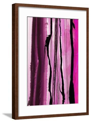 Colorful Ink Wash 1B-Tracy Hiner-Framed Art Print