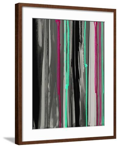 Gray with a Pop of Fun A-Tracy Hiner-Framed Art Print
