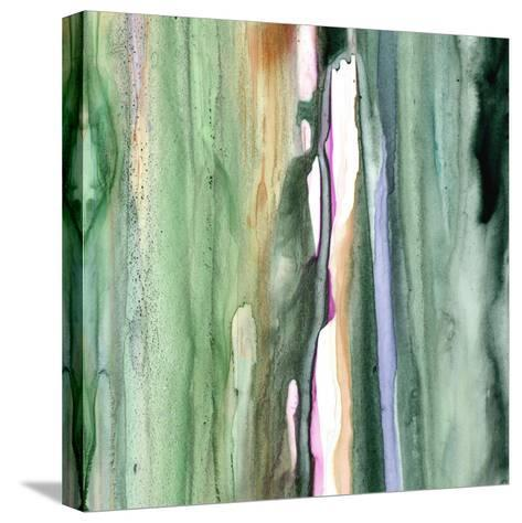 Spring Green Splash B-Tracy Hiner-Stretched Canvas Print