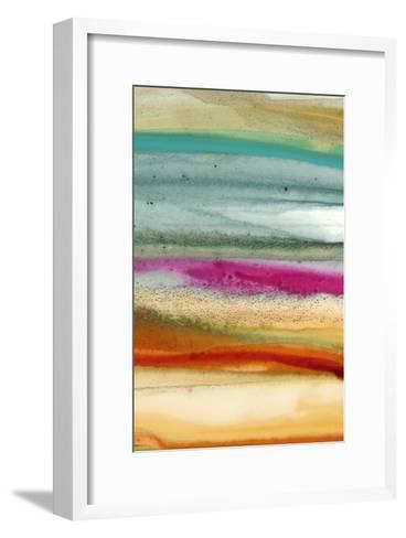 Sunset Splash C-Tracy Hiner-Framed Art Print