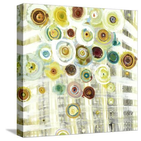 Iluminated Lattice Work 3-Akiko Hiromoto-Stretched Canvas Print