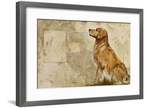 A Dog's Story 2-Elizabeth Hope-Framed Art Print