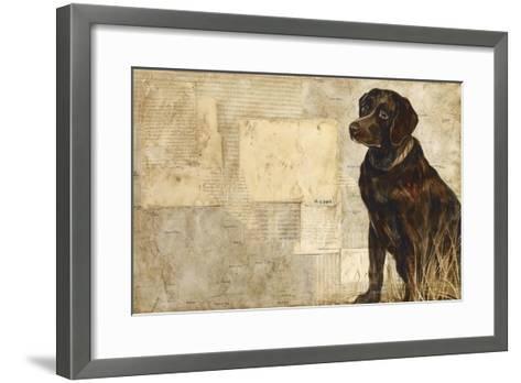 A Dog's Story 4-Elizabeth Hope-Framed Art Print