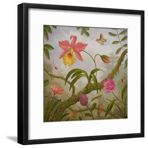 Tropical North-Fred Lisaius-Framed Art Print
