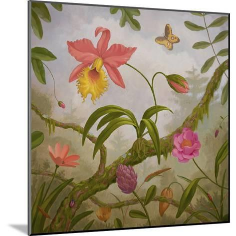 Tropical North-Fred Lisaius-Mounted Premium Giclee Print