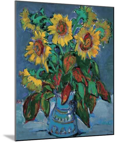 Summer Table-Teresa Llacer-Mounted Premium Giclee Print