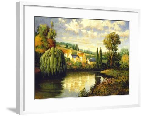 Summer at Limoux-Max Hayslette-Framed Art Print