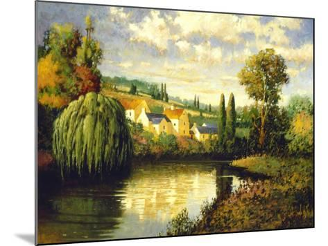 Summer at Limoux-Max Hayslette-Mounted Premium Giclee Print