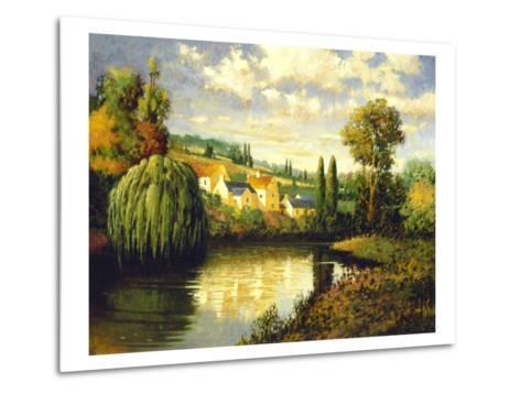 Summer at Limoux-Max Hayslette-Metal Print