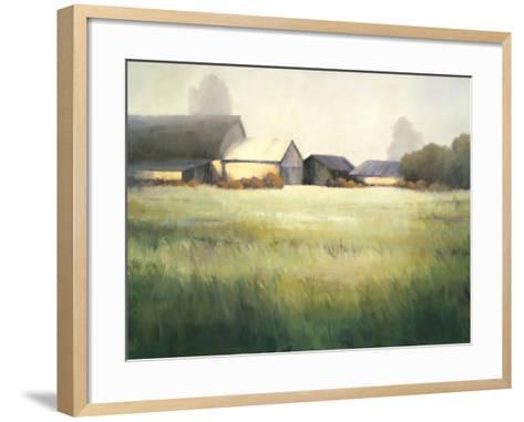 Morning Stillness-David Marty-Framed Art Print