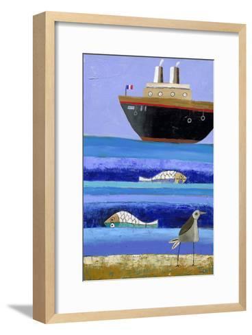 Boat-Nathaniel Mather-Framed Art Print