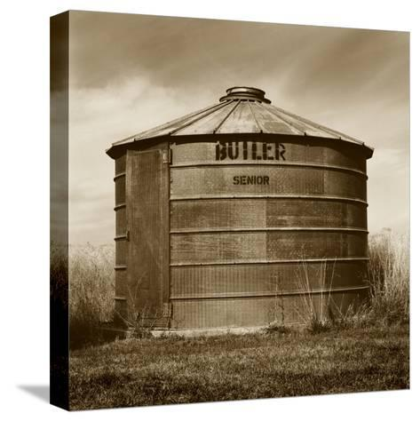 Butler Corn Crib-TM Photography-Stretched Canvas Print