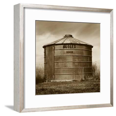 Butler Corn Crib-TM Photography-Framed Art Print