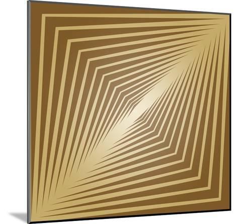 Modern Geometrics C-GI ArtLab-Mounted Premium Giclee Print