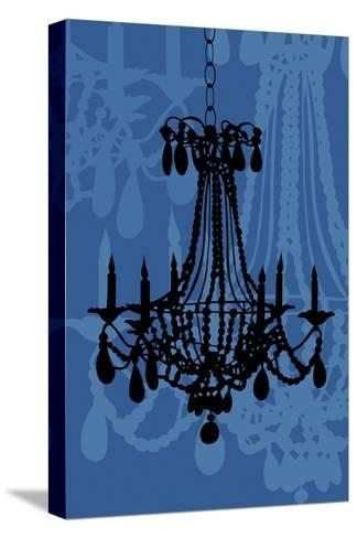 Chandelier 4 Blueberry-Sharyn Sowell-Stretched Canvas Print