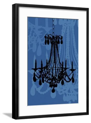 Chandelier 4 Blueberry-Sharyn Sowell-Framed Art Print