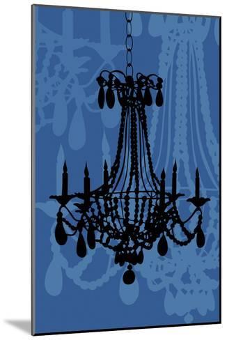 Chandelier 4 Blueberry-Sharyn Sowell-Mounted Premium Giclee Print